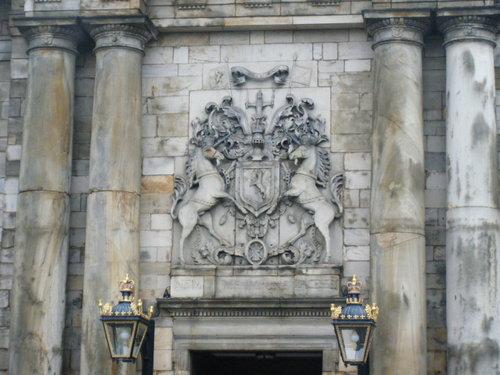 ホリールード宮殿 入口